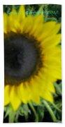 Helios Flower Beach Towel