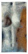 Her Figure 3 Beach Towel