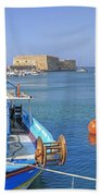 Heraklion - Venetian Fortress - Crete Beach Towel