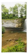 Herisson Waterfalls Beach Towel