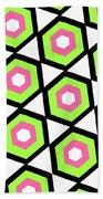 Hexagon Beach Towel