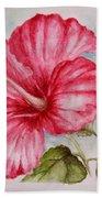 Hibiscus Flower Beach Sheet