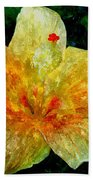 Hibiscus Hiwc Beach Towel