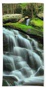 Hidden Elakala Falls Beach Towel
