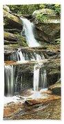 Hidden Falls At Hanging Rock Beach Towel