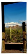 High Chaparral Old Tuscon Arizona  Beach Towel