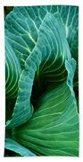 High Summer Cabbage Beach Towel