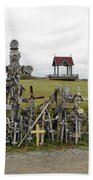 Hill Of Crosses 01. Lithuania Beach Towel
