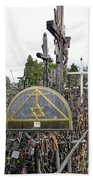 Hill Of Crosses 04. Lithuania Beach Towel