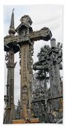 Hill Of Crosses 09. Lithuania Beach Towel