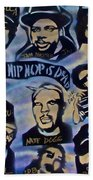 Hip Hop Is Dead #1 Beach Towel