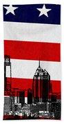 Historic Philadelphia  Beach Towel