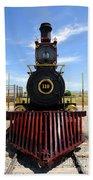 Historic Steam Locomotive Beach Towel