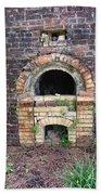 Historical Antique Brick Kiln In Morgan County Alabama Usa Beach Towel