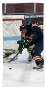 Hockey One On Four Beach Sheet