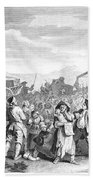 Hogarth: Industry, 1751 Beach Towel