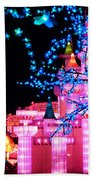 Holiday Lights 8 Beach Towel