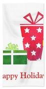 Holiday Presents Beach Towel