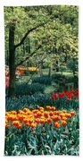 Holland Kuekenhof Garden Beach Sheet