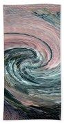 Home Planet - Northern Vortex Beach Towel