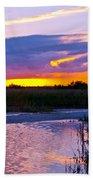 Honeymoon Island Sunset Beach Towel