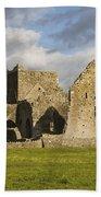 Hore Abbey, Cashel, County Tipperary Beach Towel