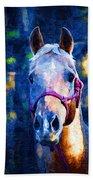 Horse Beautiful Beach Towel