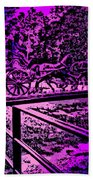 Horse Drawn Carriage In The Snow Beach Towel