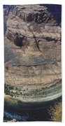 Horseshoe Bend View Beach Towel