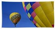 Hot Air Balloons Beach Towel