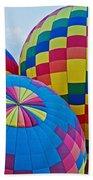 Hot Air Balloons Panorama Beach Towel