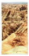 Badlands Of South Dakota Beach Towel