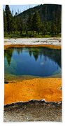Hot Springs Yellowstone Beach Towel