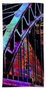 Hot Town Summer In The City Beach Towel