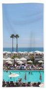Hotel Del Coronado Pool  Beach Towel