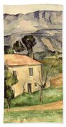House In Provence Beach Towel