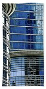Houston Architecture 1 Beach Towel