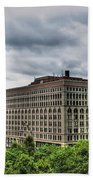 Hsbc Tower    Ellicott Square Buliding Beach Towel