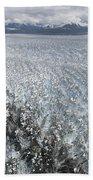 Hubbard Glacier, Gilbert Point Beach Towel