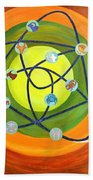 Human Birth Sign Beach Towel