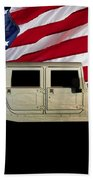 Hummer Patriot Beach Towel