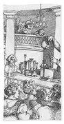 Humphrey Davy Lecturing, 1809 Beach Sheet