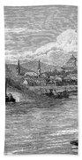 Hungary: Budapest, 1886 Beach Towel