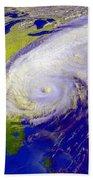 Hurricane Floyd Beach Towel