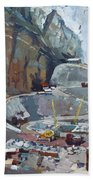 Hydropower Koman Beach Towel
