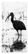 Ibis Pintail Drive Cameron Prairie Nwr Beach Towel