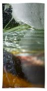 Ice Obsession Two Beach Towel