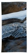 Ice Scallops Beach Towel