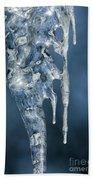 Icicle Formation Beach Towel