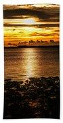 Illuminated Beach Towel